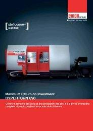 HYPERTURN 690 - Emco Maier GmbH