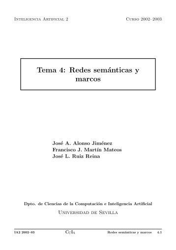 Redes semánticas y marcos - Dpto. Ciencias de la Computación e ...