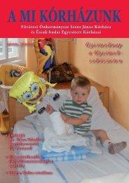 A Mi Kórházunk: 2009. június - Szent János Kórház