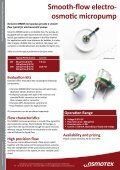 Smooth-flow electro- osmotic micropump - Osmotex - Page 2
