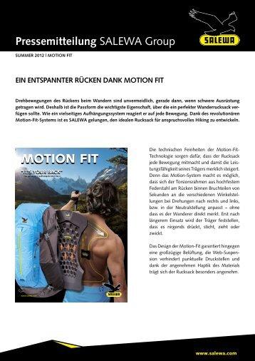 Ein entspannter Rücken dank Motion Fit (PDF) - Salewa