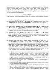 Tekst Javnog natječaja za prodaju nekretnina u ... - Samobor