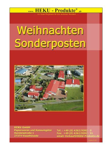 2 - HEKU GmbH Papierwaren und Konsumgüter