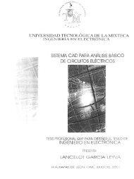 sistema cad rara análisis básico de circuitos electricos - Universidad ...