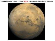Mars - Meteor Physics Group