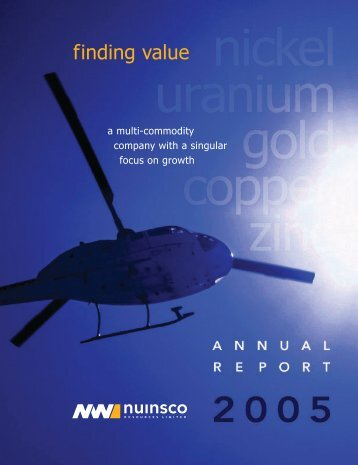 Read Report - Nuinsco Resources Limited