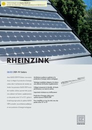 QUICK STEP- PV Solaire - TALEV