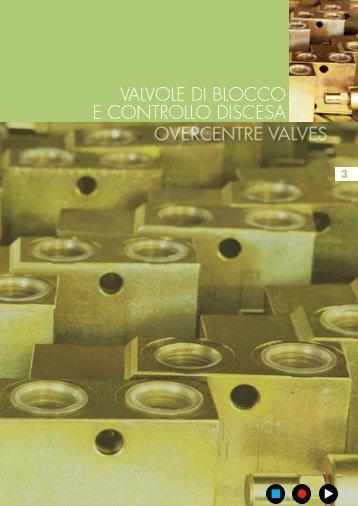 overcentre valves valvole di blocco e controllo discesa - Total ...