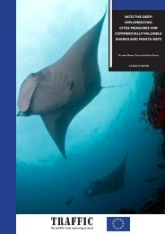 Into the deep: Implementing CITES measures for ... - Traffic