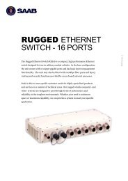 Product Sheet Rugged Ethernet Switch 16 ports.pdf - Saab