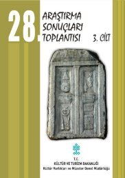 3. Cilt - Kültür ve Turizm Bakanlığı