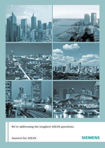 ASEAN Cluster Brochure - Siemens
