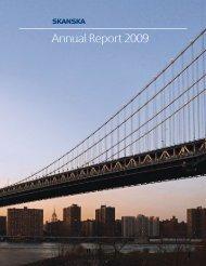 Annual Report 2009 - Skanska