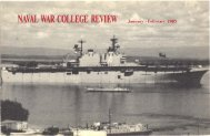 1985 January-February - US Naval War College