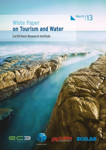 White Paper on Tourism and Water - Sustainable Tourism Online