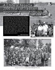 Miami Dragon Boat Festival 2006 - Asia Trend Magazine