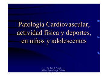 Patología Cardiovascular, actividad física y deportes, en niños y ...