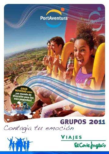 GRAN NOVEDAD 2011 - Viajes El Corte Inglés