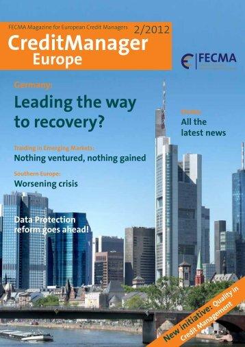 Credit Management Magazine Europe - Fecma.eu