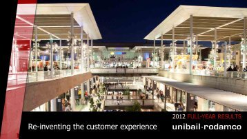 2012 Full-year results: Presentation - Unibail-Rodamco