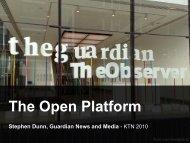 The Open Platform - Innovate 10