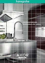 Brochure cuisine - Hansgrohe
