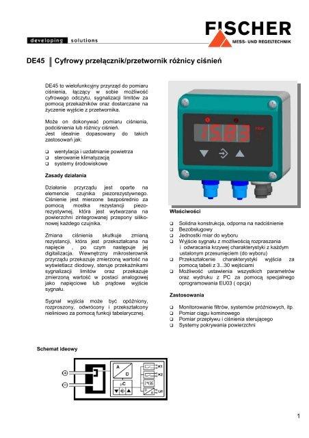podłączyć rysunek przetwornika różnicy ciśnień