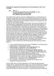 Protokoll 7. März 2008 - Arbeitsgruppe der Koordinator(inn)en in der ...
