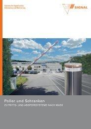 Poller und Schranken - Signal AG