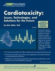 Cardiotoxicity: - Insight Pharma Reports