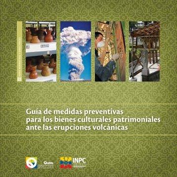 Guía de medidas preventivas para los bienes culturales ...