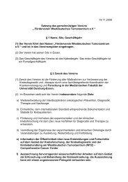 Förderverein Westdeutsches Tumorzentrum eV