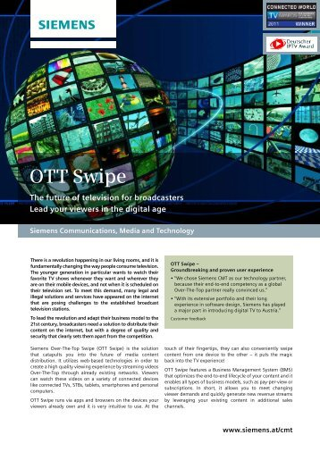 OTT Swipe - TV Connect