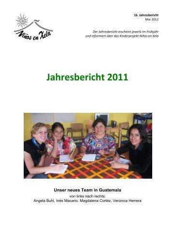 Jahresbericht 2011 - Niños en Xela