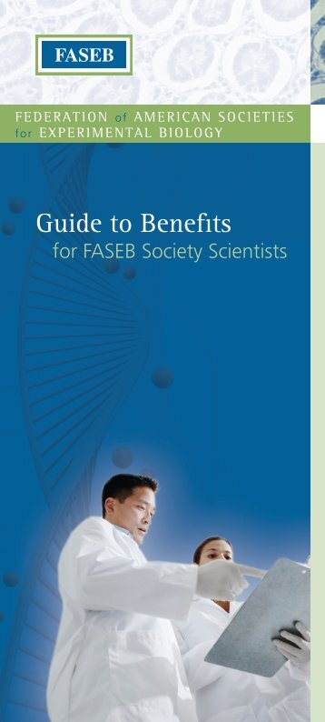Guide to Benefits - American Society for Investigative Pathology