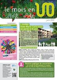 dernière publication - Villenave d'Ornon