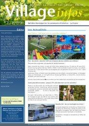 bulletin municipal n° 17 - printemps 2012 - Commune d'Arâches-La ...