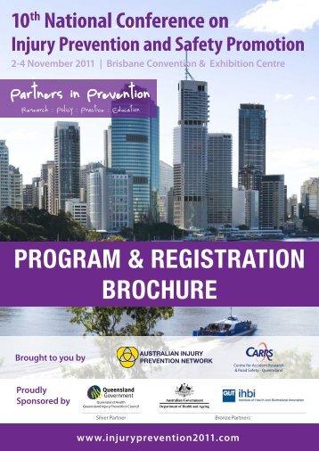PROGRAM & REGISTRATION BROCHURE
