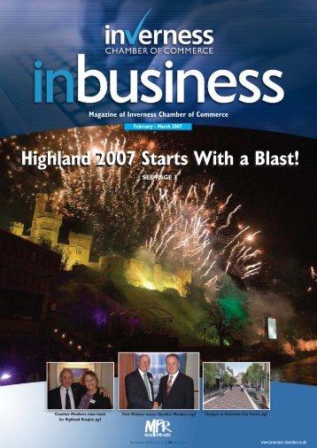 COC inbusiness newsletter - Rock Energy
