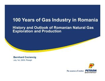 Exploration and Production - Petroleumclub.ro