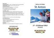 St Anton - ExodusResor
