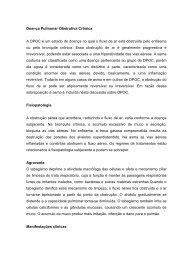 Doença pulmonar obstrutiva crônica - Portal Saude Brasil . com