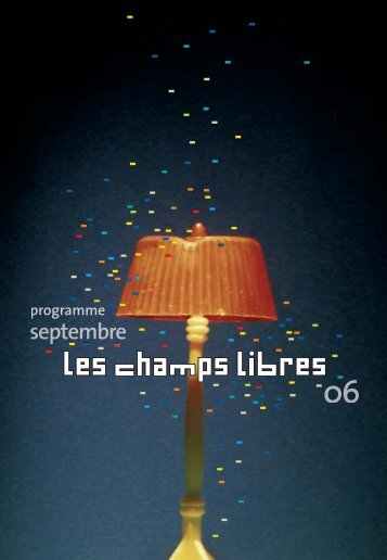 Programme mensuel septembre 2006 - Bibliothèque de Rennes ...