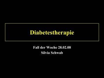 Diabetestherapie