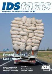Fracht sucht Laderaum - IDS Logistik GmbH