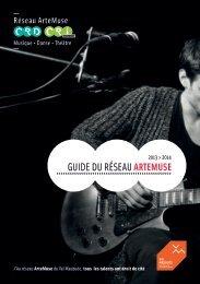 Guide du réseau ArteMuse - Agglomération de Marne-la-Vallée / Val ...