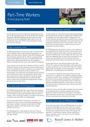 Part-Time Workers - West Midlands Police Federation