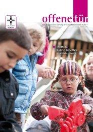 Titelthema: Kinder in der Stiftung kreuznacher diakonie