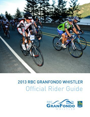 Official Rider Guide - RBC GranFondo Whistler