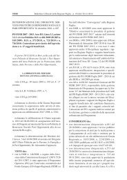 PO FESR 2007-2013 - ASSE III - Regione Puglia